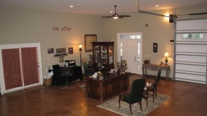 office -  where I wrote Home Matters